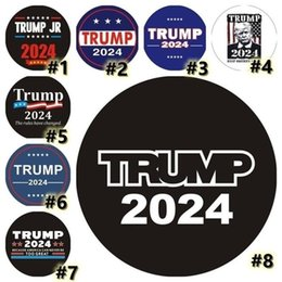 Wholesale Trump 2024 Bumper Sticker Car Window Wall Decal The Rules Have Changed MAGA Stickers President Donald Trump Be Back US STOCK