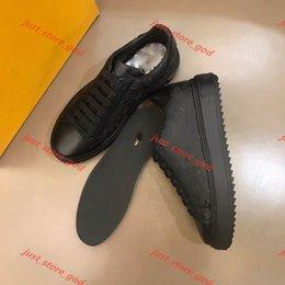 venda por atacado Louis Vuitton LV 2020 Couro clássico de alta qualidade Lace-up low-top sapatos individuais casuais para sempre de moda masculina