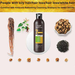 Wholesale New Chinese Medicine Dispensing Gentle Nourishing Oil Control Refreshing Anti-dandruff Anti-itch Anti-itching Lady Shampoo Free Shipping