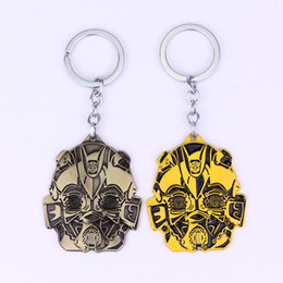 Wholesale movie transformer for sale - Group buy Movie Accessories Transformers Bumblebee Keychain Keyring Car Pendantw59w