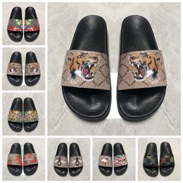 Wholesale 2021 flip flops Men Women Sandals Shoes Slide Summer Fashion Wide Flat Slippery Slipper Flop flower