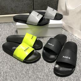 2021 Fashion slide sandals slippers for men women WITH ORIGINAL BOX Hot Designer unisex beach flip flops slipper BEST QUALITY on Sale