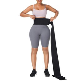 Women Waist Trainer Shaper Bustiers Snatch Me Up Bandage Wrap Belly Tummy Silmming Belt Corset Stretched Bands Cincher Shape