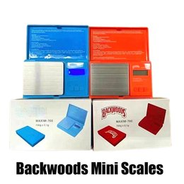 Backwoods Mini Electronic Digital Scale with Battery Red Blue 500g 700g 0.01g Accuracy Jewelry Gold Dry Herb Weight Measurement Device Flip Style Kit vs Cookies Vape on Sale