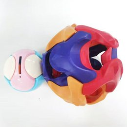 Wholesale piggy back resale online - Children s educational toys assembling piggy bank early education intelligence disassembly toy ball English version plastic ABS