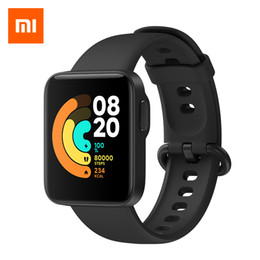 Wholesale mi watch for sale - Group buy Xiaomi Mi Watch Lite Bluetooth Smart Watch GPS ATM Waterproof SmartWatch Fitness Heart Rate Monitor mi band Global Version