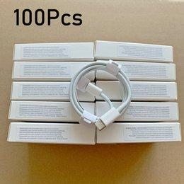 Venta al por mayor de 100 unids / lote 6 generaciones Cables originales de calidad OEM de 1M / 3FT 2M / 6FT Cable de carga de sincronización de datos USB con paquete