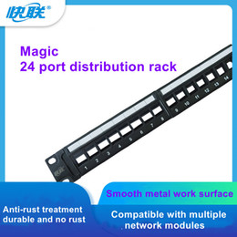 Wholesale Category 6 24-port Patch Panel and Quick Connect Category 6 Unshielded 24-port Patch Panel Factory Direct Sales