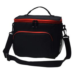 insulated lunch tote bags women 2021 - Thermal Lunch Bag Insulated Lunch Box Large Cooler Bento Tote for Men Women Double Deck Picnic Food Pack 210309
