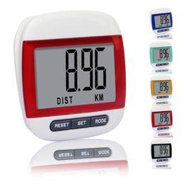 Wholesale Mini Waterproof Step Movement Calories Counter Multi-Function Digital Pedometer For Running
