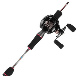Wholesale Rosewood New Trout Fishing Set Casting Rod & Reel Combo (2 Piece), 6' Length, Ultra Light, Travel Ultralight jllHeN warmslove