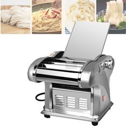 CE Electric Noodle Press Machine Dough Roller Stainless Steel Desktop Pasta Dumpling Maker Commercial Kneading Noodle Machine on Sale