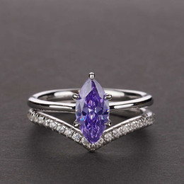 HBP fashion Shipai jewelry S925 silver horse eye artificial blue creative hand set ring 1.7ct on Sale