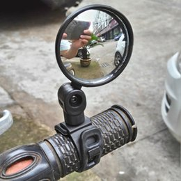 Wholesale Universal Bicycle groupset Mirror Accessories Handlebar Rearview Rotate Wide-angle For MTB Road Bike Cycling
