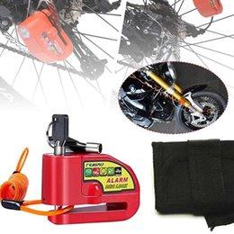 Bisiklet Kilit Alarm Disk Fren Kilit 110db Yüksek Sessiz Hırsızlık Alarm Suya Dayanıklı Bisiklet için Motosiklet Scooter Hatırlatma Hatırlatıcı Hızlı DeLig