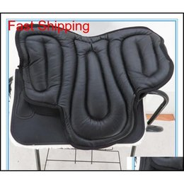 Horse Saddle Cushion Pu Cotton Cushion Shockproof Horsework Horsem jllvFv bdebag on Sale