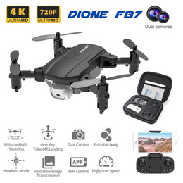 New F87 Quadcopter With Camera Professional 4K FPV Drone Helicopte Height Hold Nice Gift For Adults Kids on Sale