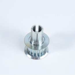 Vente en gros Poulie synchrone personnalisée des engrenages d'usinage en alliage d'aluminium fonctionnant sans bruit