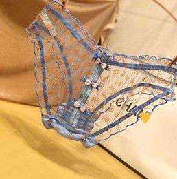 Chicas bragas nuevo estilo 3 unids encaje lindo punto ropa interior calcinha bragas chicas calzoncillos hueco joven ropa interior ropa de niña y0126 en venta