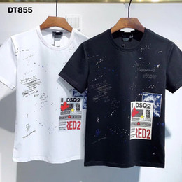 Wholesale ds shirt for sale - Group buy DS brand model red2 Tong foreign trade men s short sleeved T shirt factory dt855