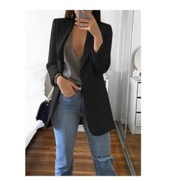 ingrosso mantelle donna-2021 Autunno Moda Donna Blazer e Giacche Lavoro Ufficio Signora Vestito Donne Slim Business Femmina Talever Cappotto Cape Blazer Vestido