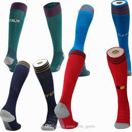 Wholesale japan arts resale online - 21 national team Japan Brazil Argentina Belgium Northern Ireland Sweden Spain Italy soccer adult Kids football Sports Socks