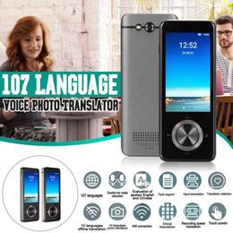 Ingrosso Kinco M9 Traduttore Voice Instant Traduttore portatile Traduttore in lingua in tempo reale Supporti intelligenti 12 lingue offline