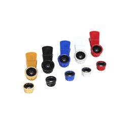 Fisheye wide-angle lens three in one universal clip mobile phone