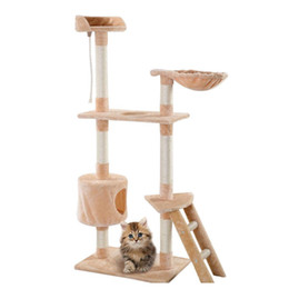 tours de chat achat en gros de-news_sitemap_home60 Cat Tower Tower Condo Condo Meubles Chaton Pet House Jllohb Chaudslove