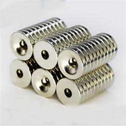 50 шт. 10 х 3 мм отверстие 3 мм N50 Сильный кольцевой магнит D CounterSunk редкоземельные неодимовые магниты постоянного магнита 266 R2 на Распродаже