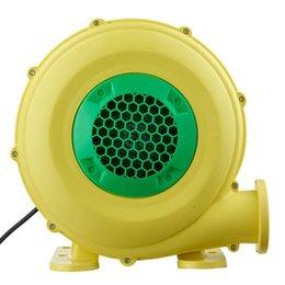 venda por atacado 380w ventilador de ar inflável, peso leve, para pequena casa de salto médio, castelo insuflável e slides, soprador interno / exterior (110-120v 60Hz)