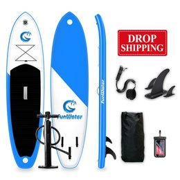 Funwater Drop Ship Delivery Within 7 Days surfboard 335*82*15cm inflatable standup paddle board wholesale sup surf paddleboard water sport