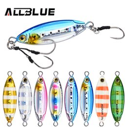 lead spoons fishing lures UK - ALLBLUE New SLOWER OVAL Metal Slow Jig Cast Spoon 28G 40G 60G Artificial Bait Shore Fishing Jigging Lead Metal Fishing Lure C0222