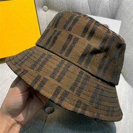 fashion Man Woman Bucket Hats Caps Beanie Baseball Cap for Men Womens Casquette brown Mens Women buckets hat High Quality