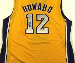 Wholesale howard Signed Autograph signatured Autographed auto jersey shirts