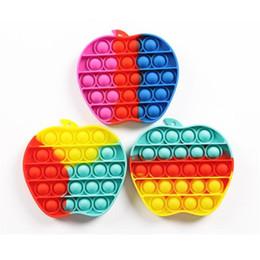 Ingrosso Push Bubble Fidget Sensory Toys Altre arti e mestieri Decompression Autism Autism Bisans Ansia Stress per bambini Adult