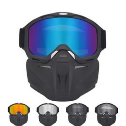 Ski Snowboard Glasses Face Mask Snow Ski Glasses Snowmobile skiing Mask Snowboard Glasses Windproof Motocross Sunglasses Outdoor 23 X2 on Sale