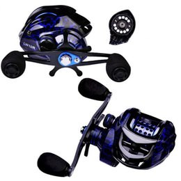 Baitcasting Reels 50% Fishing Reel High Strength Spinning Metal Micro General 7.2:1 Gear Ratio Bait Caster For Angling