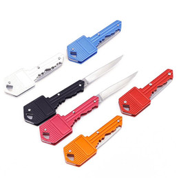 Cuchillo de llavero Mini Mini Plegable Plegable Knifes Sabre Suizo Swiss Cuchillos de autodefensa EDC Herramientas Mano Herramientas WY1217-1 en venta