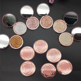 Опт Цветочный свекровный прессованный порошок 6 цветов алмаз бронзовый кузовной подсветку