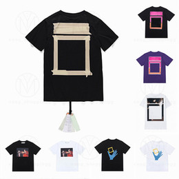 Summer Mens Women Designers T Shirts Loose Tees Fashion Brands Tops Man S Casual Shirt Luxurys Clothing Street Shorts Sleeve Clothes Tshirts 2021 on Sale