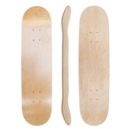 Wholesale Arrival DIY Skateboard 31*8 Inch Blank Skateboard Deck Skate Boarddouble Concave Kick Decks Deskorolka Part SC157 30 Z2