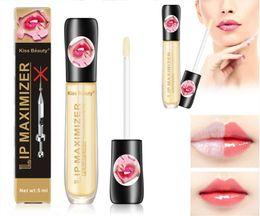 Kiss Beauty Lip Plumper Gloss Oil Moisturizing Lip Maximizer plumpling Plumper Enhancer Lips Mask lipgloss Instantly Sexy Lips Care Serum on Sale