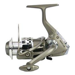 Bobines de pêche 1000-7000 8BB Spincast Bobine Pêche Spinning Reel Grande roue longue Shot 262 W2 en Solde