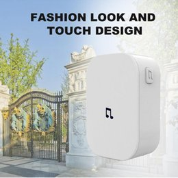 Wholesale Smart Home Control WiFi Doorbell Receiver Fashionable Large Working Range Metal Wireless Chime For Living Room Bell Intelligent