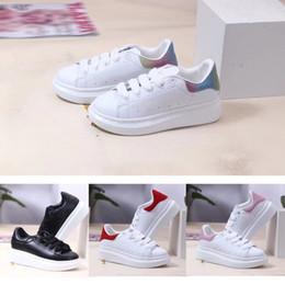 2021 Cut Baixo Classic Treinador Casual Crianças Menino Menina Crianças Skate Sneaker Fashion Show Shoes Tamanho24-35 em Promoção
