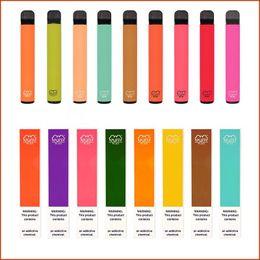 PUFF Bars Plus disposable kit vape 800+Puffs Pen 550mAh Battery 3.2ml Pods Cartridges Pre-Filled e Cigs Portable Vaporizer