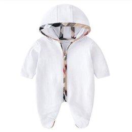 2021 Dziecko Pajaciki Wiosna Jesień Baby Boy Ubrania Nowy Romper Bawełna Noworodka Baby Girls Designer Kids Designer Uroczy Dokumny Kombinezony Zestaw Odzież