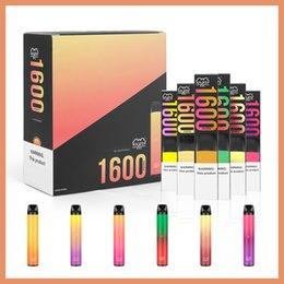 Сток в нас! Puff XXL 1600 Puffs Одноразовые ручки для весенок 1000 мАч 6,5 мл E-Lique 20+ Цвета оптом Бар плюс DHL Pods Картриджи Паспорты Устройство на Распродаже
