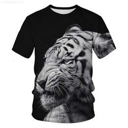 3d animals print t shirts Australia - 2019 new men summer designer shirt breathable o-neck 3d printed animal luxury shirts men-s-clothing funny tiger shorts plus size t